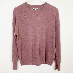 Madewell | Cashmere Sweater Pink